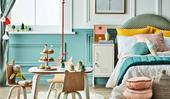 Tea party: how to create a pastel kids bedroom