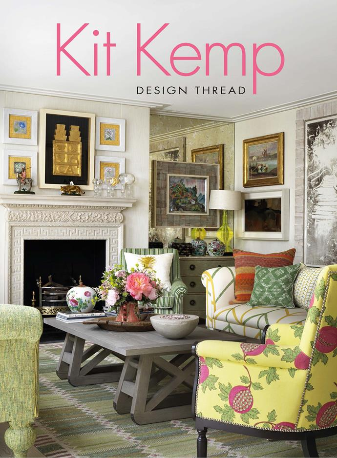 "**KIT KEMP: DESIGN THREAD**<p> Never shouty or showy, London-based hotelier and interior designer Kit Kemp's style is playful and decidedly sophisticated. Her roomscapes deftly stitch together colour, pattern and texture, artworks old and new, and custom pieces and found furniture and objects. This book shows the resulting vignettes to be works of art in themselves, delighting the eye and uplifting the soul. $43.75, [Booktopia](https://www.booktopia.com.au/design-thread-kit-kemp/book/9781784881948.html|target=""_blank""