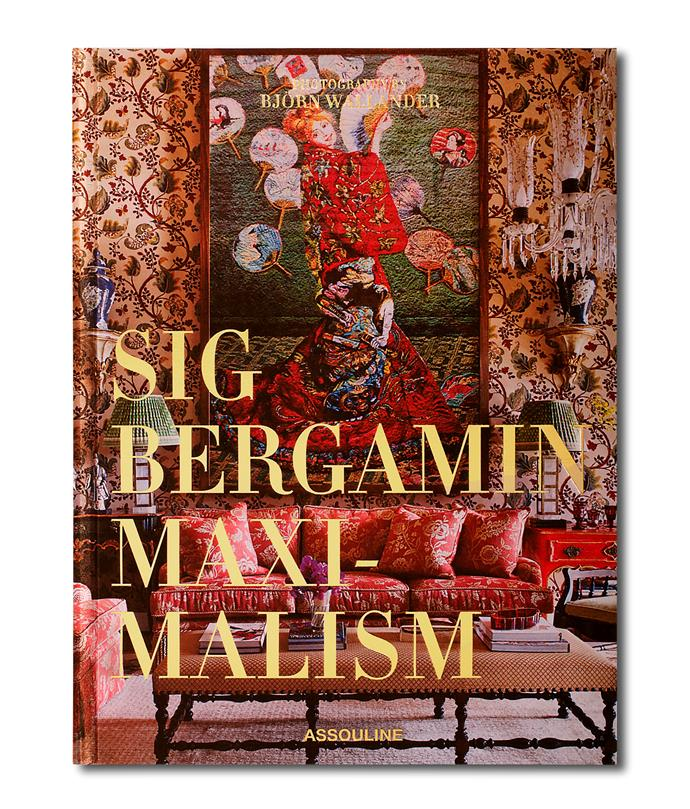 **MAXIMALISM BY SIG BERGAMIN** <p> Brazilian architect and designer Sig Bergamin is known for taking people out of their comfort zone, and certainly his offbeat colour combinations, clashing patterns and graphic pieces can be confronting. But when things get too 'greige' it's quite refreshing to immerse yourself in the vivid, eclectic and larger than life world of Sig, even just through the pages of this book. *Sig Bergamin, Assouline, $170*