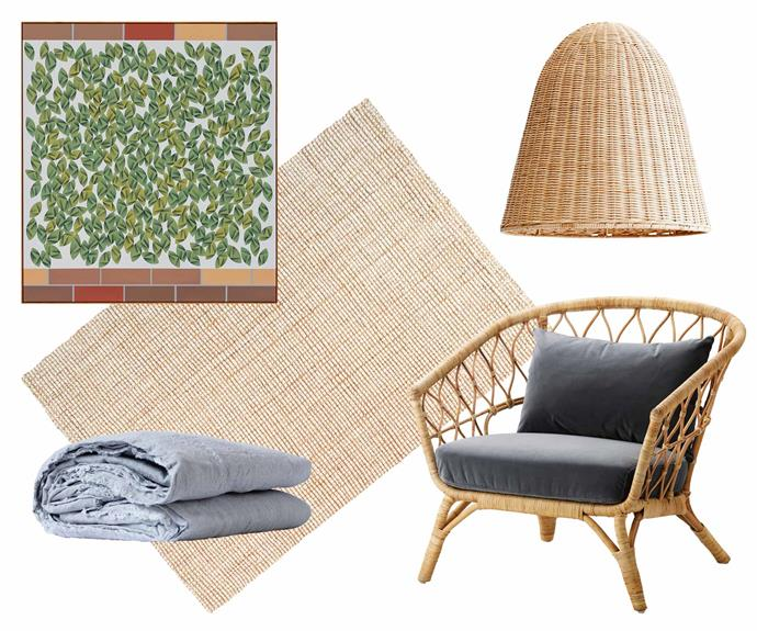 "**Location, location** This home's coastal surroundings have influenced the relaxed yet elegant decorative pieces throughout the space. **Get the look** (clockwise from left) Geranium Pots (Adjacent Garden Square) artwork by [Mitch Cairns](https://mitchcairns.info/|target=""_blank""