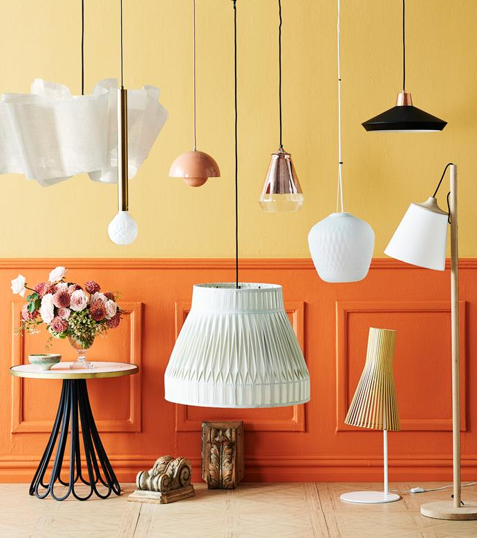 Switching to LED globes can shave hundreds off your yearly electricity costs. *Photo:* Paul Urizar | *Styling:* Kate Nixon