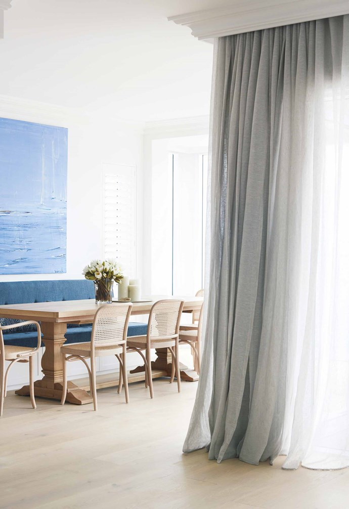 "**Sheer magic** During the day, you need natural light but also privacy. [Simple Studio](http://simplestudio.com.au/|target=""_blank""