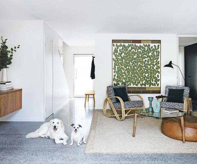 This serene designer beach house in Macmasters Beach is inspired by nature