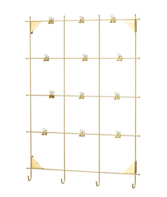 """MYRHEDEN Memo board with clips, $14.95, [IKEA](https://www.ikea.com/au/en/catalog/products/90338243/ target=""""_blank"""" rel=""""nofollow"""")"""