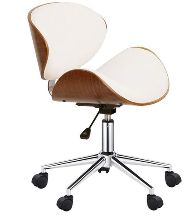 "Selby Office Chair in White, $129.95, [Zanui](https://fave.co/2BorYii|target=""_blank""