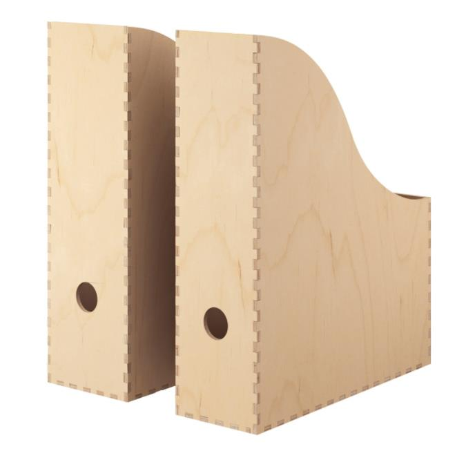 "KNUFF plywood magazine file (set of 2), $17.99, [IKEA](https://www.ikea.com/au/en/catalog/products/30187341/|target=""_blank""