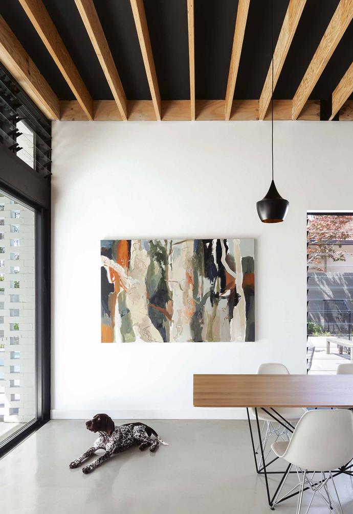 "*Design: [Noxon Giffen](http://www.noxongiffen.com/|target=""_blank""|rel=""nofollow"") | Build: [Steele Associates](http://steeleassociates.com.au/|target=""_blank""|rel=""nofollow"") | Artwork: Elizabeth Tremain | Photography: Katherine Lu.*"