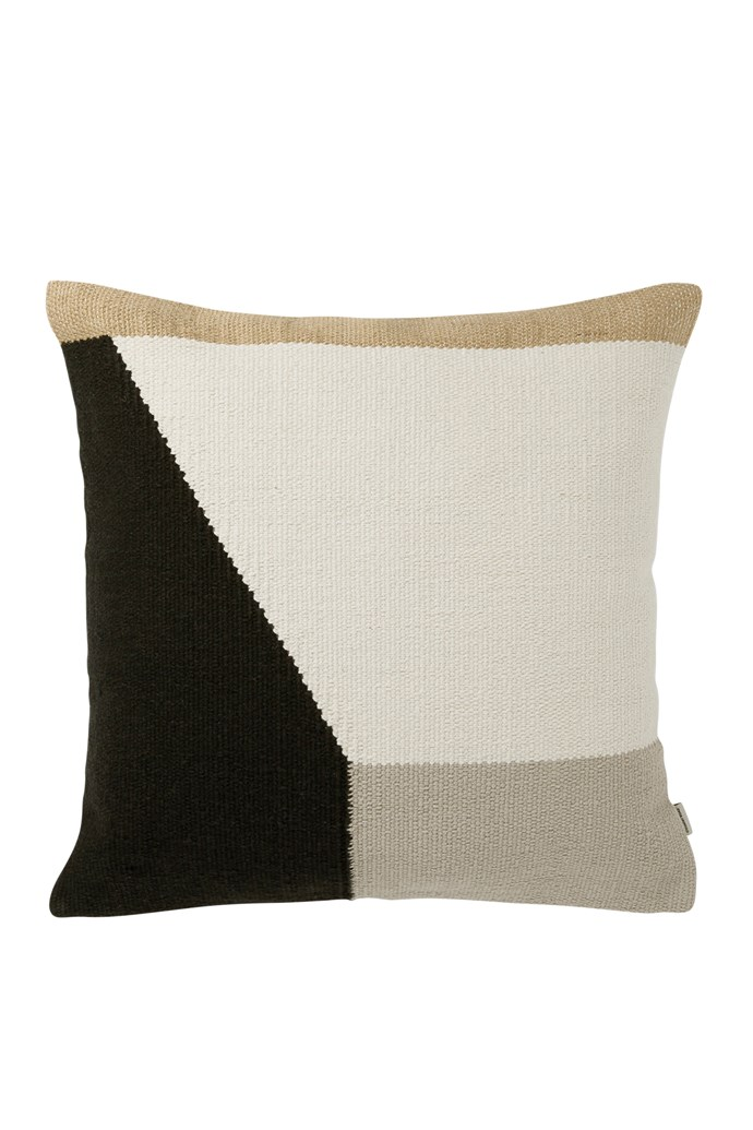 """Edon cushion, $69.95, [Country Road](https://www.countryroad.com.au/
