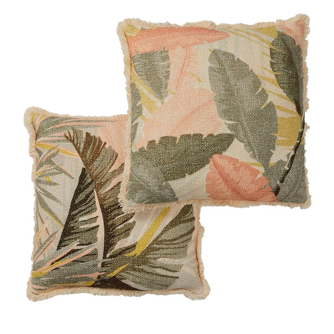 "Aruba cushions, $129.95 for set of 2, [OZ Design Furniture](https://ozdesignfurniture.com.au/|target=""_blank""