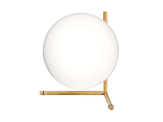 "Flos IC T2 table lamp in Brass, $1000, [Living Edge](https://livingedge.com.au/|target=""_blank""|rel=""nofollow"")"
