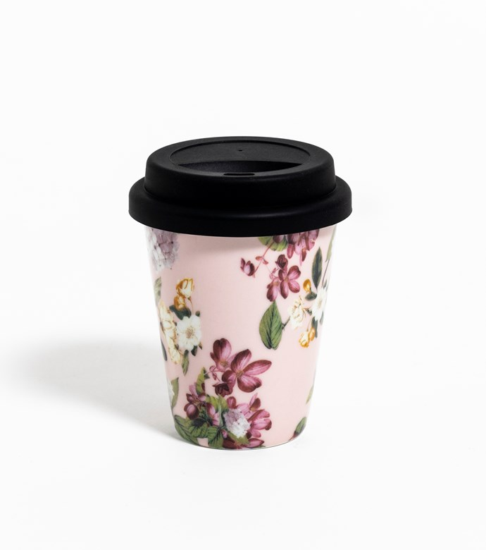 "Fashion Series reusable latte cups, $59.95, [Vittoria](https://www.vittoriacoffee.com/shop/machines-and-accessories/vittoria-coffee-set-of-6-fashion-series-ceramic-latte-cups-with-reusable-takeaway-silicon-lids|target=""_blank""