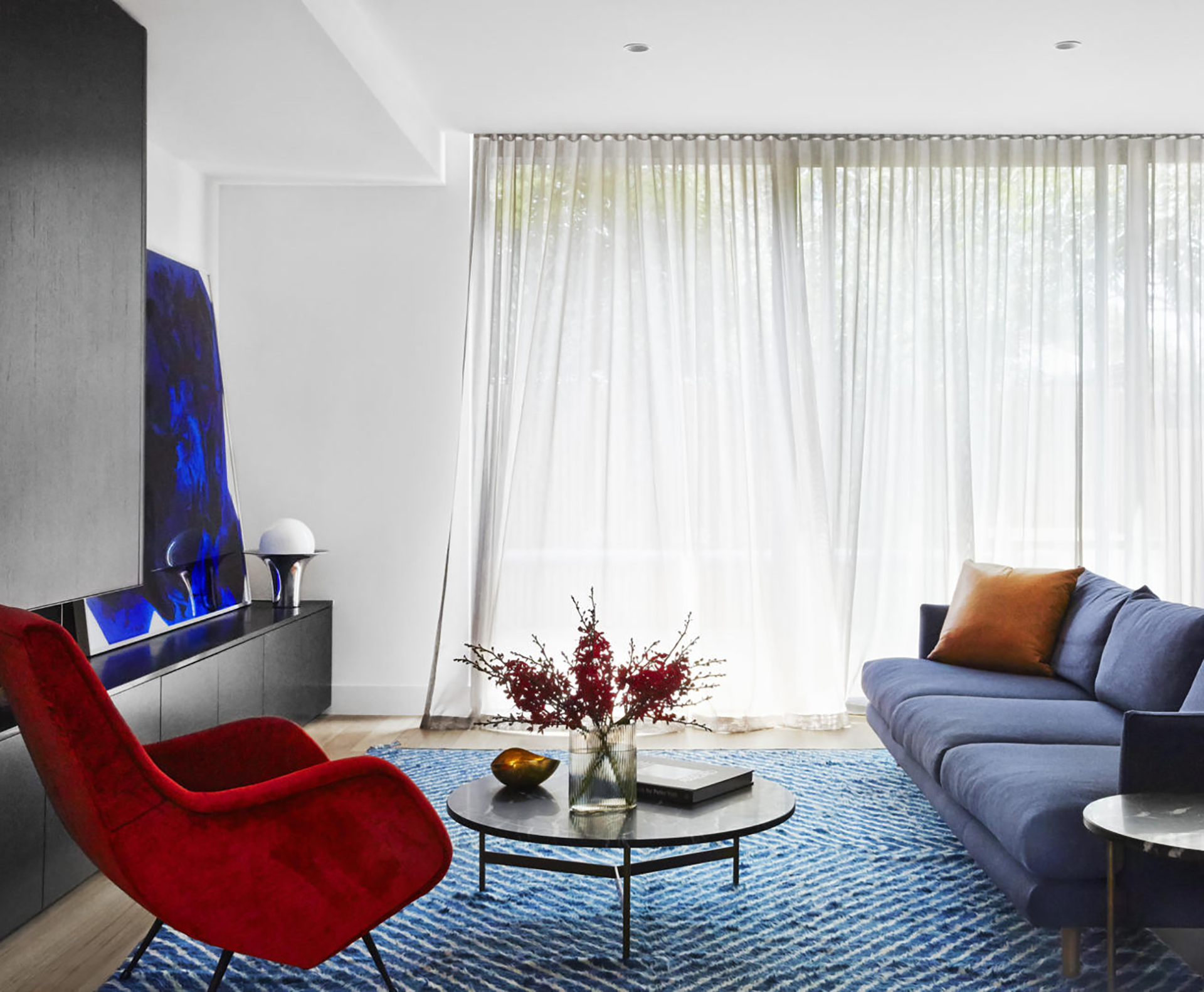 A high-end pad in South Yarra