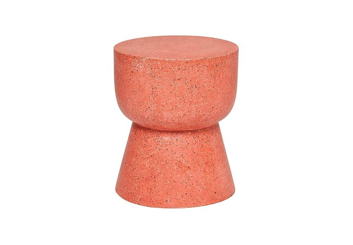 "fenton & fenton 'Terrazzo Hourglass Stump' in Paprika [fentonandfenton.com.au](https://www.fentonandfenton.com.au/collections/view-all-furniture/products/terrazzo-stump-hourglass-paprika|target=""_blank""