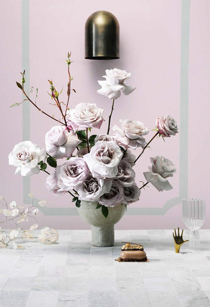 "*Styling: Jono Fleming   Floral styling: Myra Perez of [My Violet](http://www.myviolet.com.au/ target=""_blank"" rel=""nofollow"")   Photography: Edward Urrutia.*"