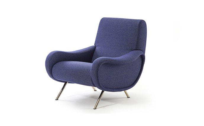 "Cassina '720 Lady' armchair by Marco Zanuso [spacefurniture.com.au](https://www.spacefurniture.com.au/720-lady-armchair.html|target=""_blank""