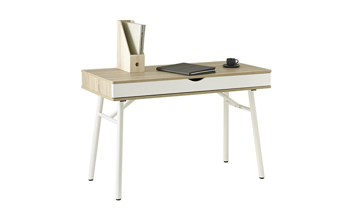 """**'Willow' desk**: This chic Scandi-inspired desk in powdercoated metal, MDF and particleboard is ideal for a compact office or child's study. It packs a generous two-compartment drawer and cable-management system into its 115x55cm proportions, $149. [officeworks.com.au](https://www.officeworks.com.au/shop/officeworks/p/willow-desk-otwillow