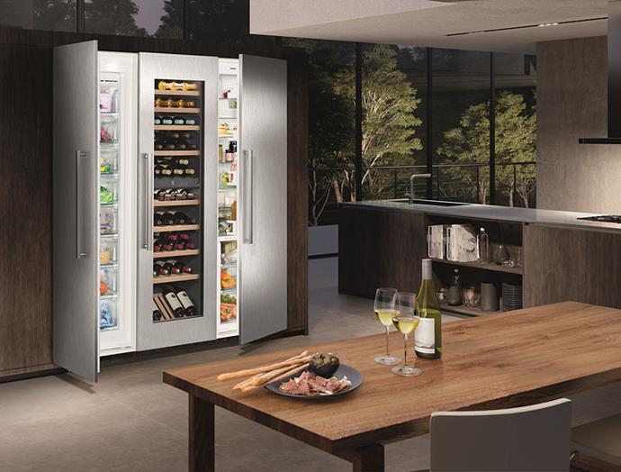 """This [integrated Liebherr fridge-freezer](https://home.liebherr.com/en/aus/apac/household-appliances/built-in-appliances-household/built-in-fridge-freezers/built-in-fridge-freezers-apac.html