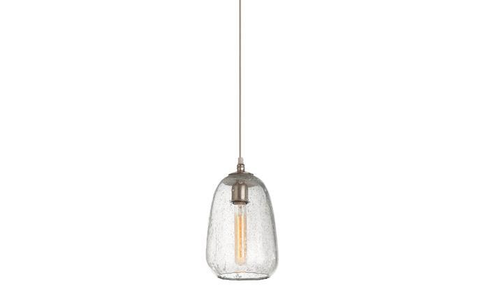 "'Shelton Globular' glass pendant light, $995, [cocorepublic.com.au](https://www.cocorepublic.com.au/|target=""_blank""|rel=""nofollow"")"
