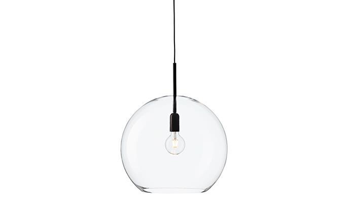 "'Pop' acrylic pendant light, from $548, [ismobjects.com.au](http://www.ismobjects.com.au/|target=""_blank""|rel=""nofollow"")"