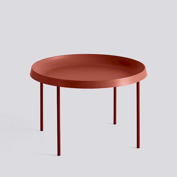 Tulou Coffee Table / Orange Powder Coated Steel