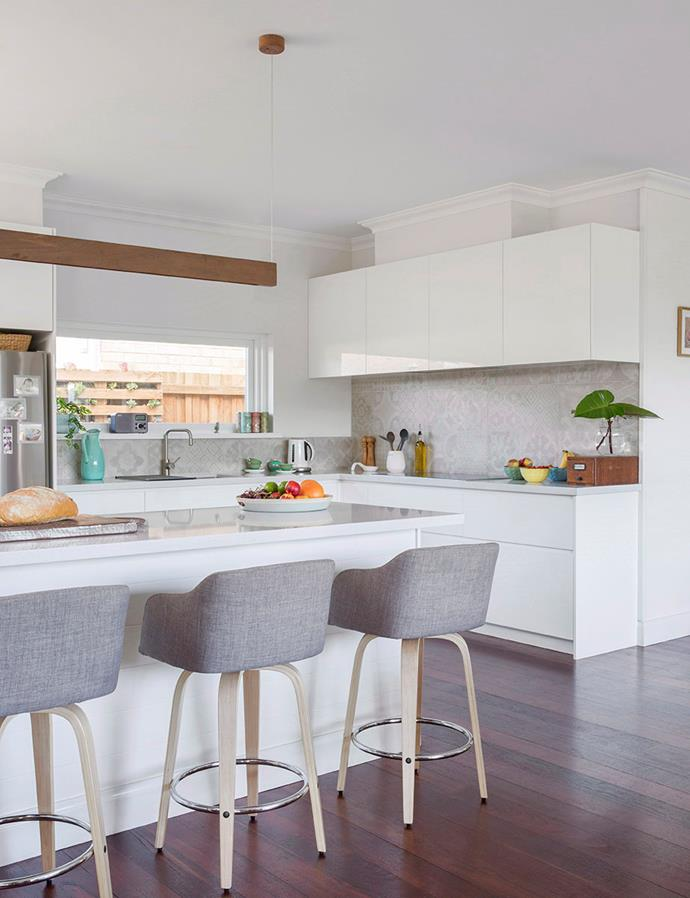 This Scandi-style kitchen takes advantage of space, with an open layout proving perfect for entertaining. *Image: Angelita Bonetti / bauersyndication.com.au*