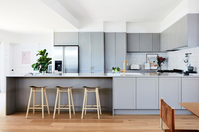 Briar and Mark gutted the kitchen and gave the old one away for free on Gumtree. They engaged Freedom Kitchens early on in the project, as installing the new kitchen was a major component.