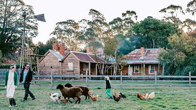 The faithful restoration of an old farmhouse in central Victoria