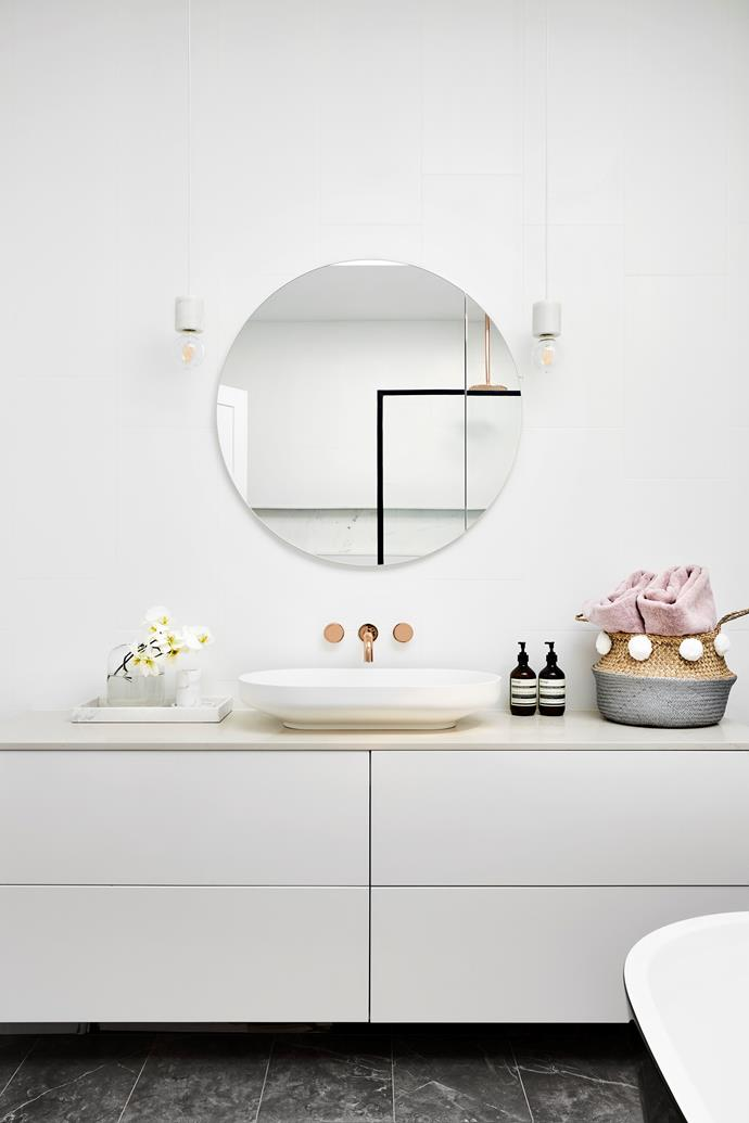 "**Bathroom refresh:** It's one of the first rooms in the home to start showing wear and tear, but it's also one of the most expensive to renovate. So in between renos, why not [give your bathroom a quick update](https://www.homestolove.com.au/budget-bathroom-remodelling-ideas-5270|target=""_blank"") with just a few simple changes – think new tapware, towel rails, drawer handles, door knobs, mirrors, hooks or a flashy new shower curtain. Most, if not all, of these ideas can be ticked off in a day."