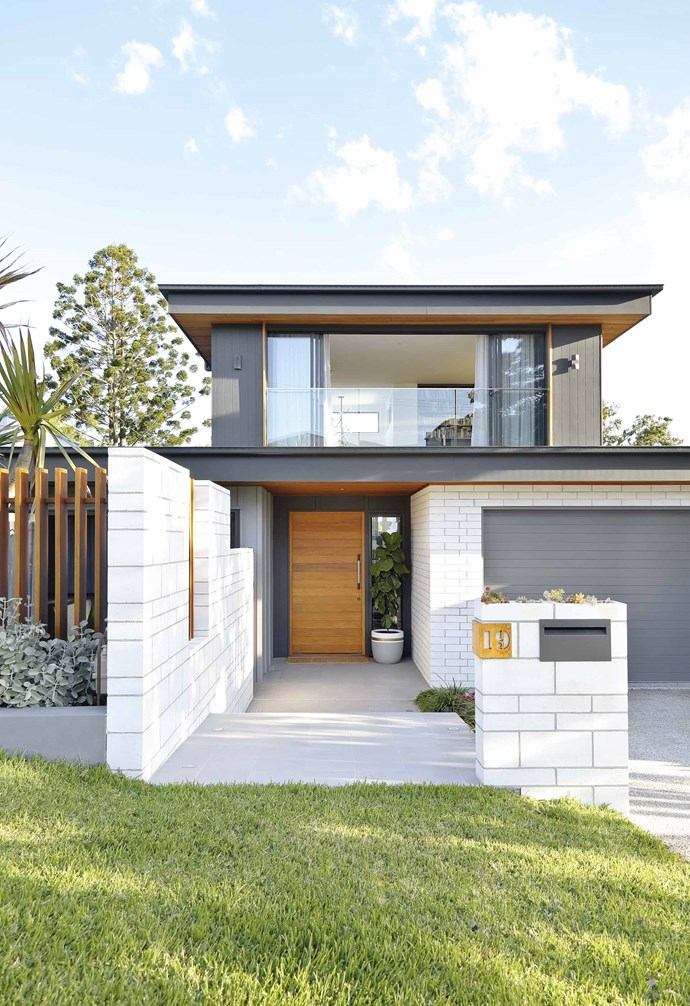 """**Exterior** Luisa loves the white GB Masonry bricks and blocks from [Austral Masonry](https://australmasonry.com.au/
