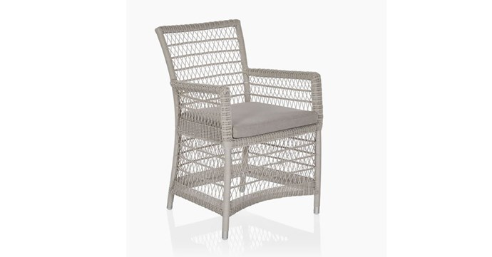 "Isla Outdoor Dining Chair, $415, [Coco Republic](https://www.cocorepublic.com.au/catalog/product/view/id/8516/s/isla-outdoor-dining-chair/|target=""_blank""