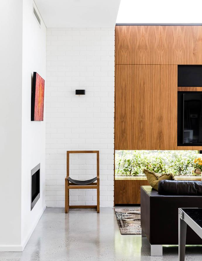 "The family of this [charming heritage bungalow](https://www.homestolove.com.au/1940s-facade-hides-a-sizzling-21st-century-home-3269|target=""_blank"") commissioned architect Mark Szczerbicki to undertake a minimalist yet detailed renovation. *Photograph*: Maree Homer 