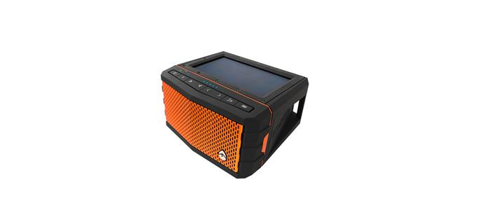 """Enjoy music on the move with a solar-powered speaker. 'SolJam' Bluetooth speaker, $290, [totalkayakandfishing.com.au](https://www.totalkayakandfishing.com.au/