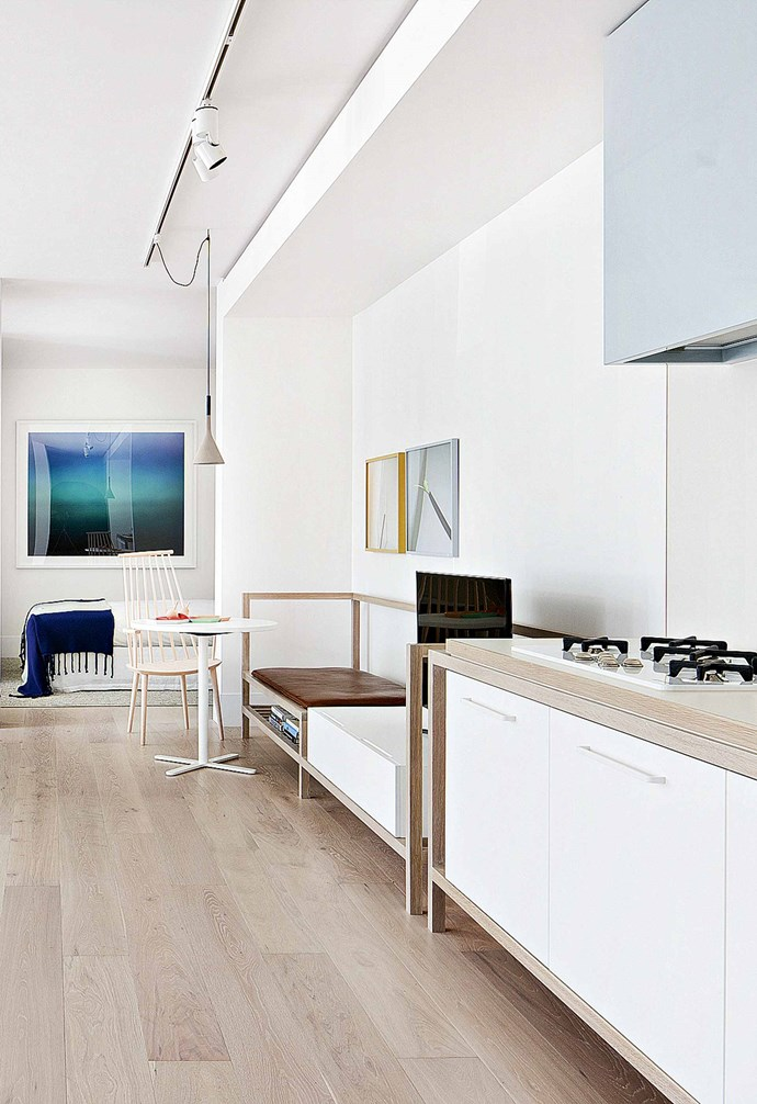 """Everything within an apartment's walls can be changed without strata approval, but it's always worth checking with the owners corporation and letting your neighbours know before you rip up the carpet. *Design: [Hecker Guthrie](https://www.heckerguthrie.com/
