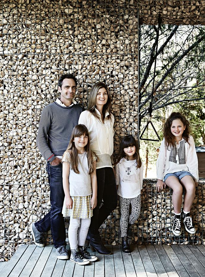 The Quinns, who have three daughters — Mia, 11, Lucy, nine, and six-year-old Isla — bought the three hectares in 2010 after a long search for somewhere to build a country escape.