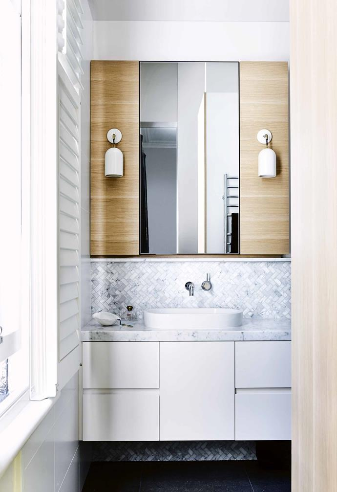 "The result is a masterstroke of clever and creative thinking, not only for the compact design, but also for the resale potential. ""Having an [ensuite](https://www.homestolove.com.au/ensuite-bathroom-design-ideas-18820