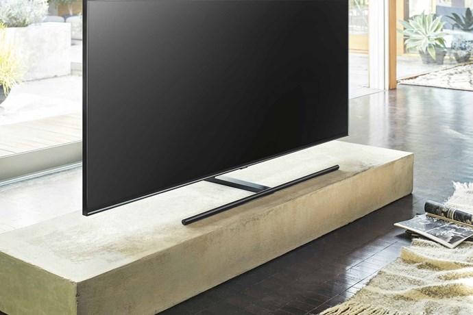 "A slimline stand helps minimise bulk. 'Series 9 Q9' 65-inch QLED 4K TV, $6999, [Samsung Australia](https://www.samsung.com/au/ target=""_blank"" rel=""nofollow"")."