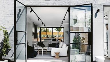 A renovated Melbourne warehouse is now the perfect entertainer's home