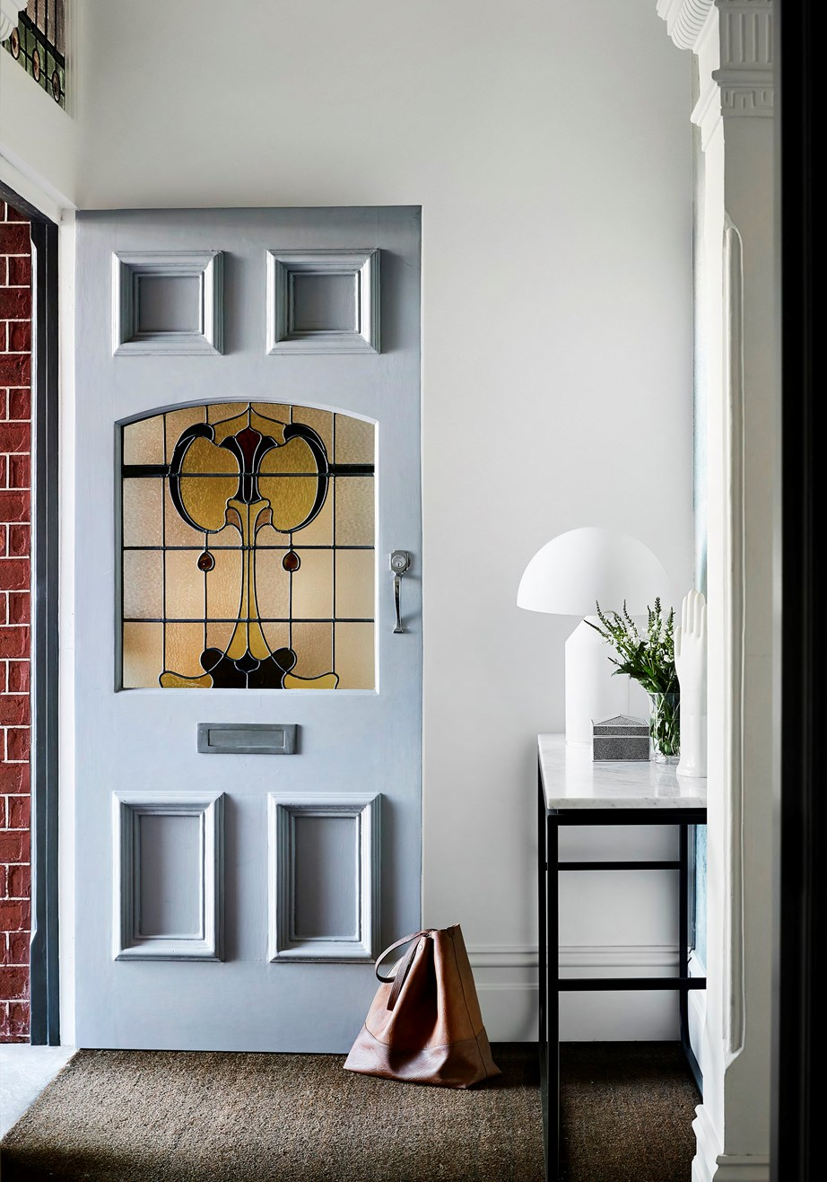 What would an interior designer see if they stepped through your front door?