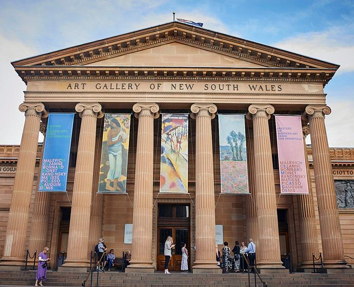 The Art Gallery of NSW was the venue for ArtStart's glittering reception.