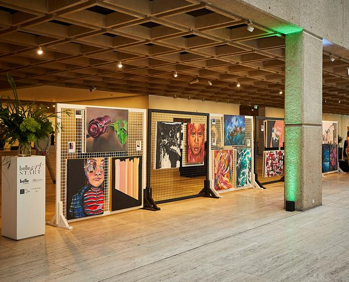 All artworks submitted were exhibited at the ArtStart event and could be purchased by guests.