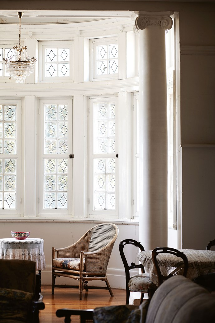 "The Withdrawing Room - with a beautiful [bay window](https://www.homestolove.com.au/house-window-styles-and-names-5514|target=""_blank"") - dates from an era when ladies left gentlemen to enjoy their port in the dining room."