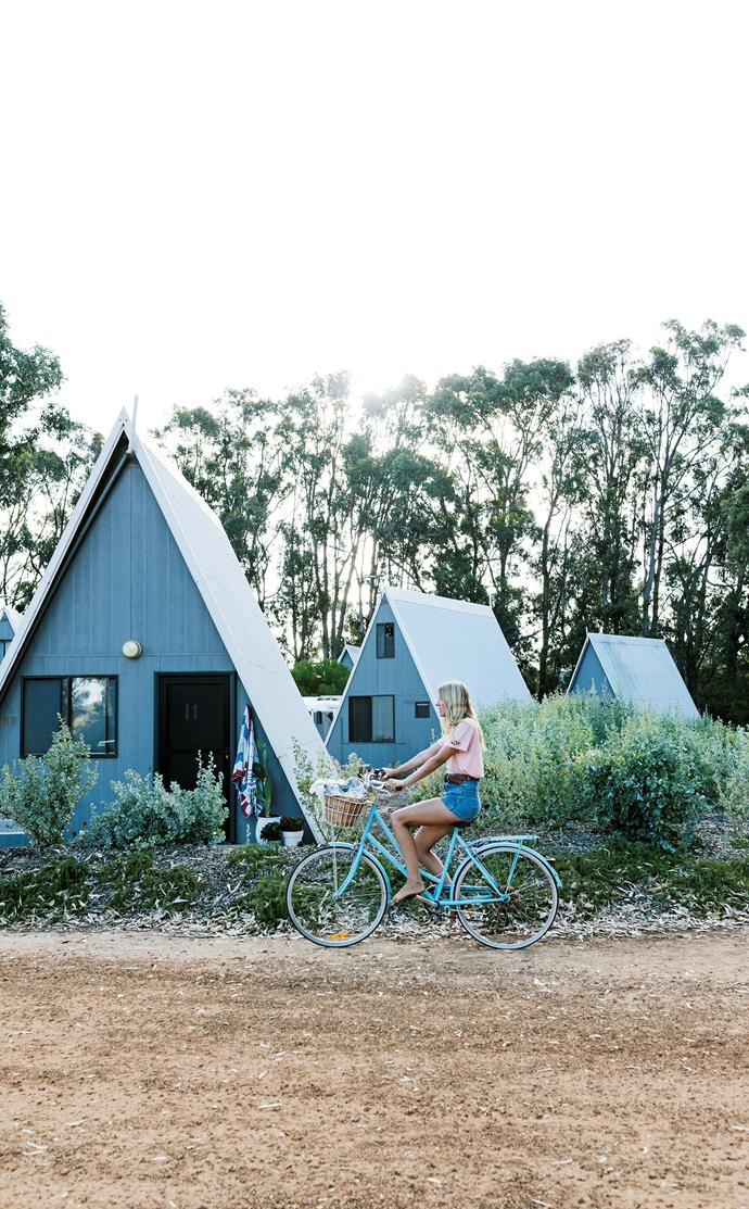 Soak up your coastal surroundings without forgoing any of life's little luxuries at this cosy holiday village.