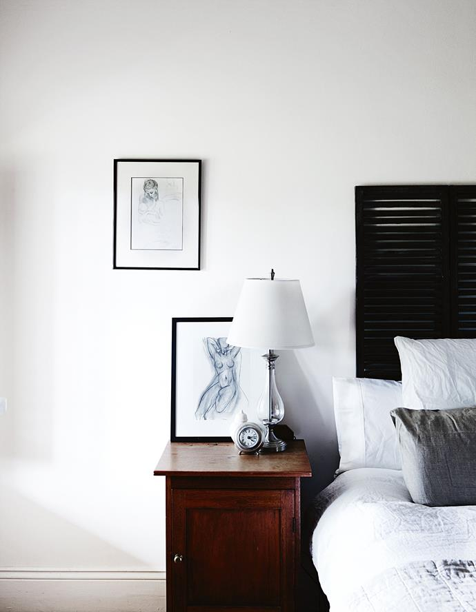 "Prints by Picasso and Matisse match the restrained shades of the [Bedouin Societe](http://www.bedouinsociete.com/|target=""_blank""