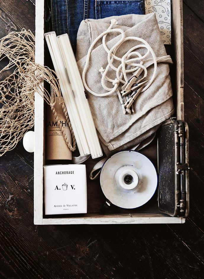 """**Keep curated vignettes contained**: One way to prevent everyday objects from looking chaotic is to [group them together and style them](https://www.homestolove.com.au/how-to-style-a-vignette-5757