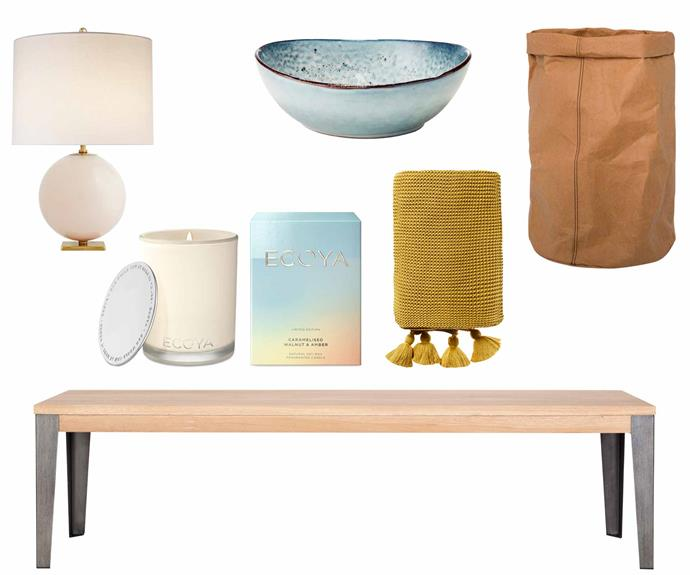 "**Final polish** Set the scene with textured and colourful finishing touches to suit any space. **Get the look** (clockwise from left) Kate Spade New York for Visual Comfort & Co. 'Elsie' table lamp in Blush Painted Glass, $792, [The Montauk Lighting Co](https://www.montauklightingco.com/|target=""_blank""