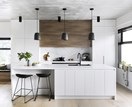 White and timber kitchen inspiration