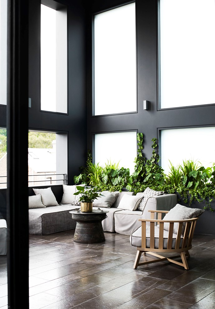 """A surprising array of relaxing outdoor spaces is woven throughout this [glamorous warehouse](of a [home designed by MiArchitects](https://www.homestolove.com.au/warehouse-sydney-home-19821