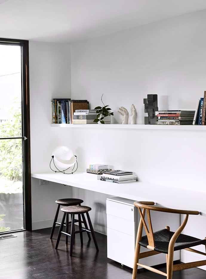 Positioning your home office near a window allows for ample natural light. *Photo:* Derek Swalwell  / *bauersyndication.com.au*