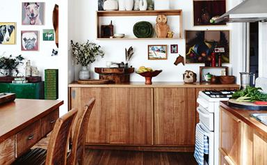 A jewellery maker's eclectic Tasmanian cottage