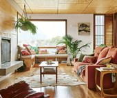 Retro meets coastal in this 60s-style Torquay home filled with vintage finds